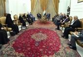 عراق| حمایت ائتلاف النصر از روند تشکیل دولت/ دیدار هیئتی از جریان صدر با برهم صالح