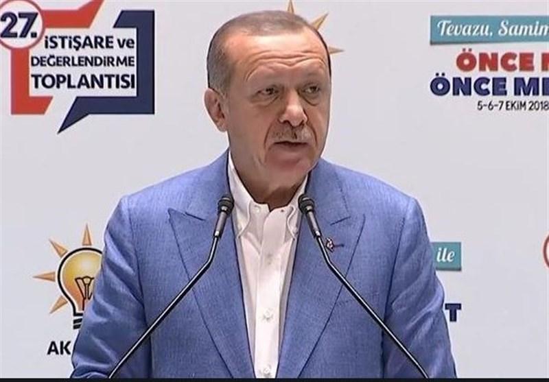"""اردوغان: حزب دموکراتیک خلقها مسئول جنایات پ ک ک است/""""عفو عمومی"""" راه چاره نیست"""