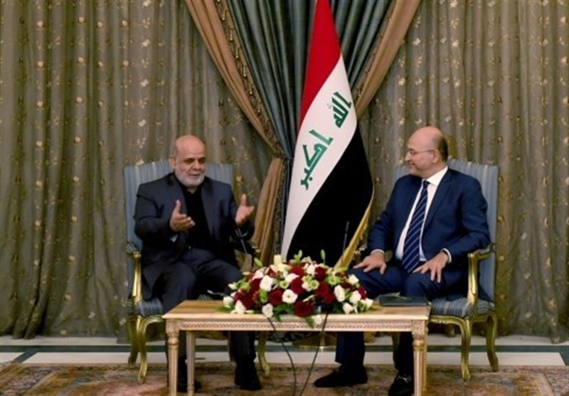 New Iraqi President Lauds Iran's Support in War on Terror