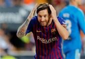 برشلونة یتعادل مع فالنسیا