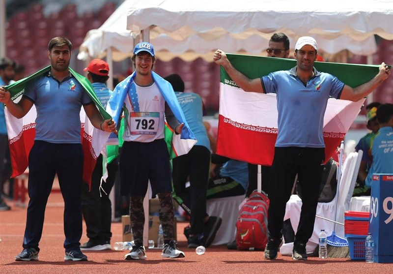 Iran's Azizi Seizes Gold at World Para Athletics C'ships