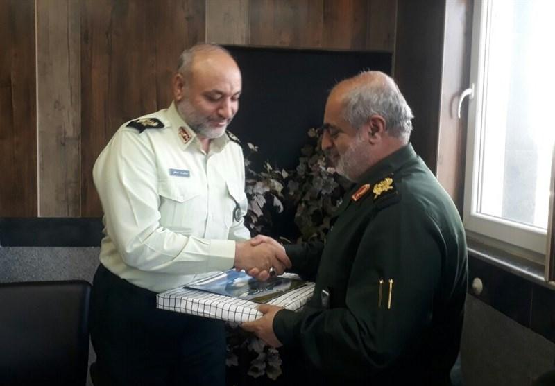 فرماندهان نظامی و انتظامی گیلان بر اتحاد در حفظ امنیت مردم تاکید کردند
