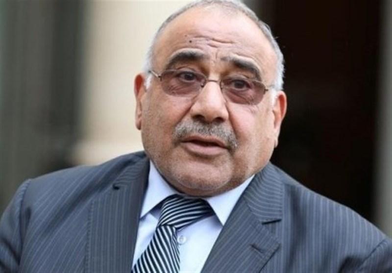 عبدالمهدی:همه گروههای عراقی درباره لزوم حل بحران در منطقه اتفاق نظر دارند