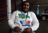 گزارش خبرنگار اعزامی تسنیم از اندونزی  حامد امیری: هدفم شکست رکورد پارالمپیک بود که به آن نرسیدم