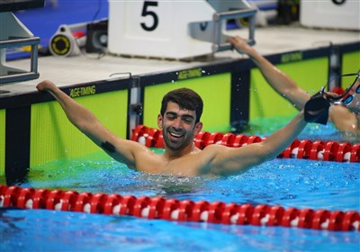 Swimmer Izadyar Seizes His Second Gold at Asian Para Games