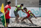 Iran Pummels USA at Intercontinental Beach Soccer Cup