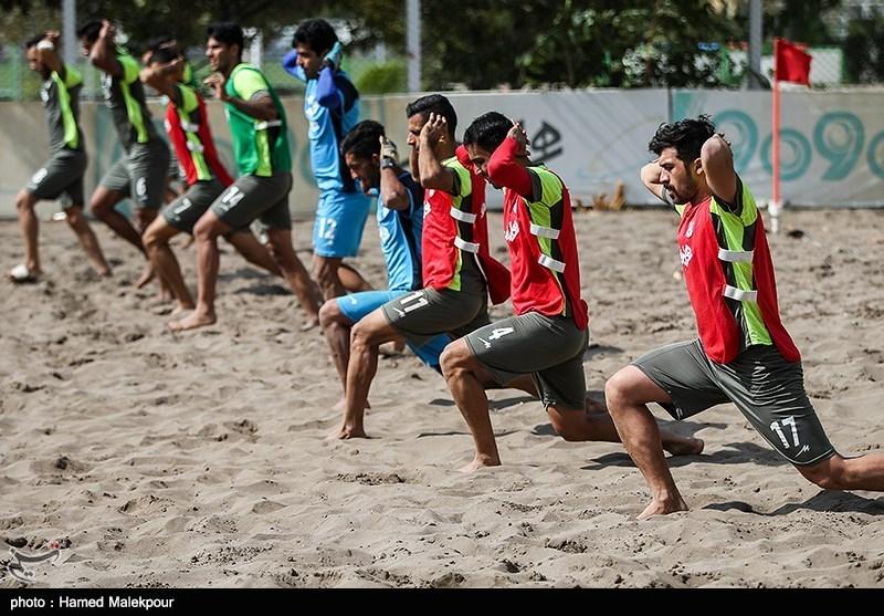 Iran Beach Soccer Training