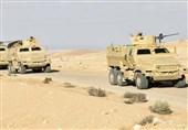مصر| کشته شدن 10 فرد مسلح در شمال سیناء