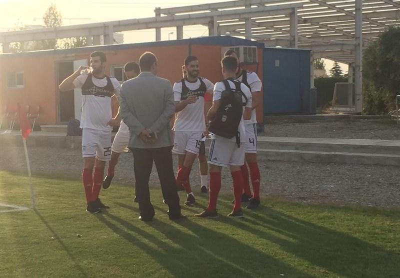 گزارش تمرین تیم ملی فوتبال| کیروش بازهم دیر آمد اما تیم را تمرین داد/ اضافه شدن 9 بازیکن + عکس
