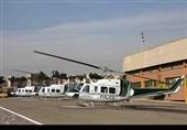 ایلام  امداد رسانی هوایی به زائران اربعین انجام می شود
