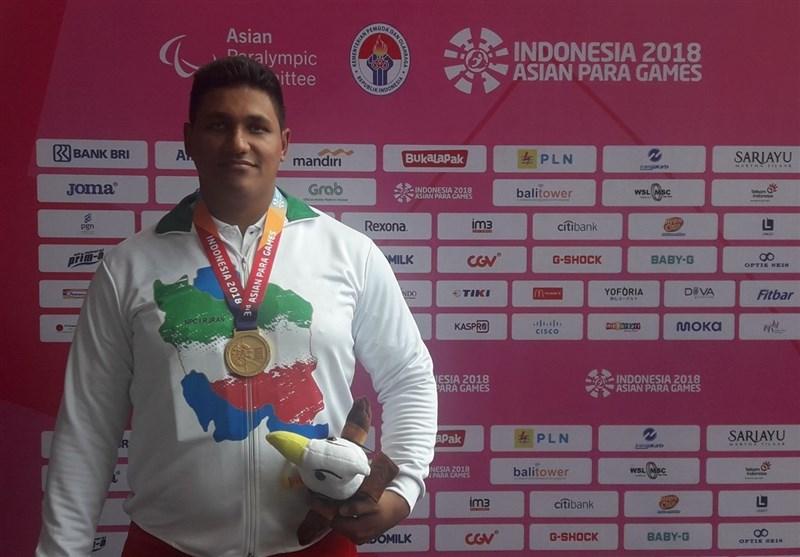 Iran's Olad Wins Gold at World Para Athletics Championships