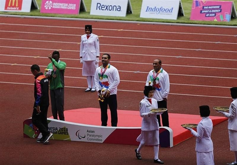 Asian Para Games: Ahmadi Takes Gold at Shot Put