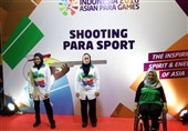 Iranian Shooter Javanmardi Claims Second Gold at Asian Para Games