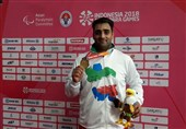 Iranian Thrower Sepahvand Seizes Gold at Asian Para Games