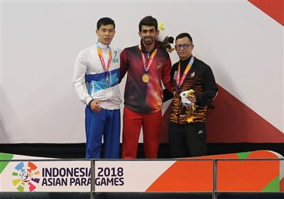 Swimmer Izadyar Wins Third Gold at Asian Para Games
