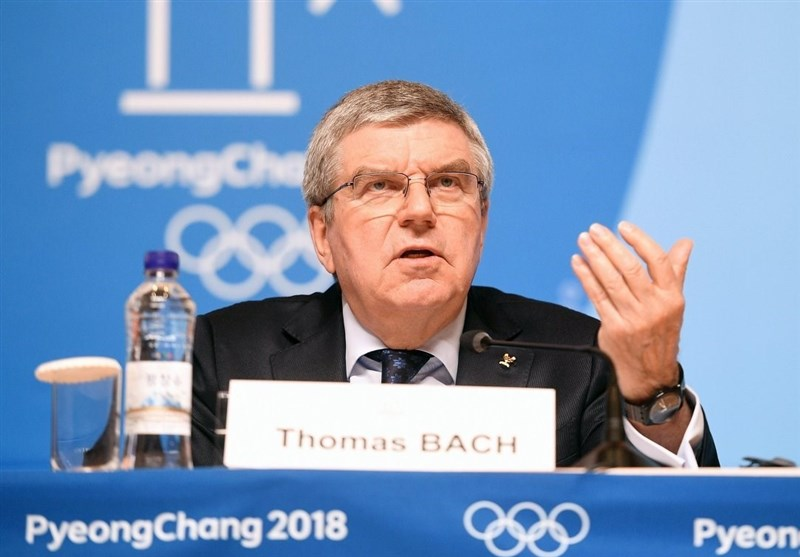 IOC President Bach Encourages Everyone to Stay Strong