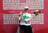 Woman Discus Thrower Motaghian Grabs Gold at Asian Para Games