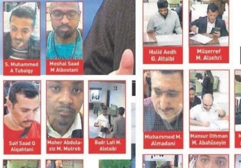 ترک حکام نے جمال خاشقجی کے قاتلوں کے نام جاری کردیے
