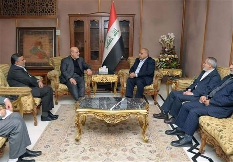 Iraq's Incoming PM, Iranian Envoy Hold Talks in Baghdad