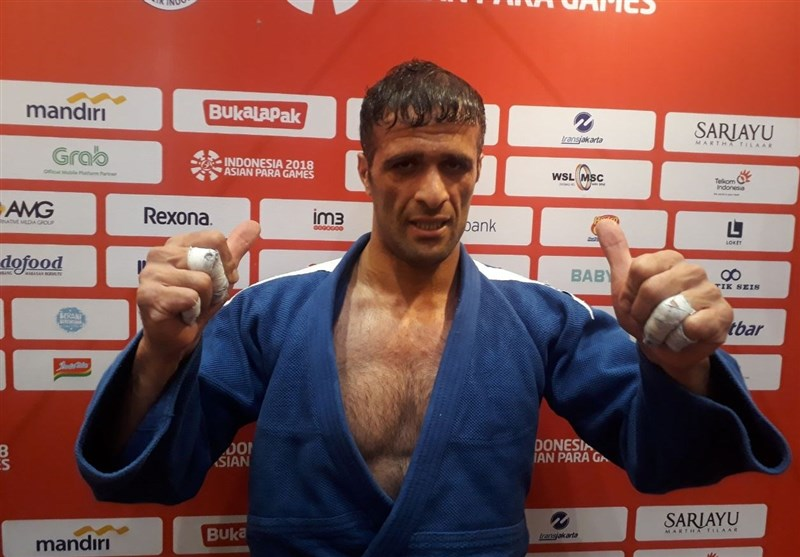 Iranian Judoka Mousanezhad Makes Dream Debut at Asian Para Games
