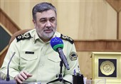 No Security Problem in Borders with Iraq ahead of Arbaeen: Iran's Police Chief