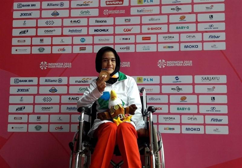 Asian Para Games: Iranian Shot Putter Arezou Rahimi Wins Gold