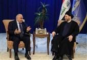 رایزنی حکیم و عبدالمهدی درباره تکمیل کابینه عراق