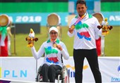 Iran's Mixed Team Recurve Open Gains Gold