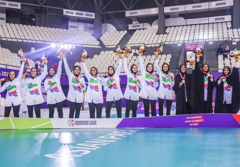 Iran Women's Sitting Volleyball Runner-up at Asian Para Games
