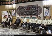 دیدار کارکنان فرماندهی انتظامی استان یزد با آیت الله ناصری+تصاویر