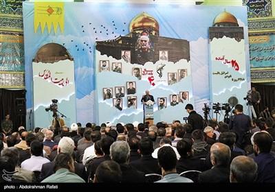 مراسم سومین سالگرد شهادت سردار همدانی- همدان