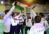 Asian Para Games: Iran's Men's Goalball Wins Gold