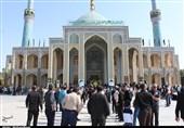 عزاداری مردم کاشان در آستان مقدس آقا علی عبّاس و سید محمّد(ع)+تصاویر