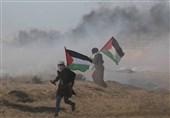 فلسطین| یورش مجدد اشغالگران قدس به شرکتکنندگان در راهپیمایی بازگشت