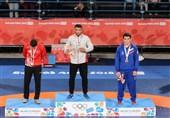 المپیک جوانان 2018| محمد نصرتی و امیر دهبزرگی در کشتی فرنگی به مدال طلا رسیدند