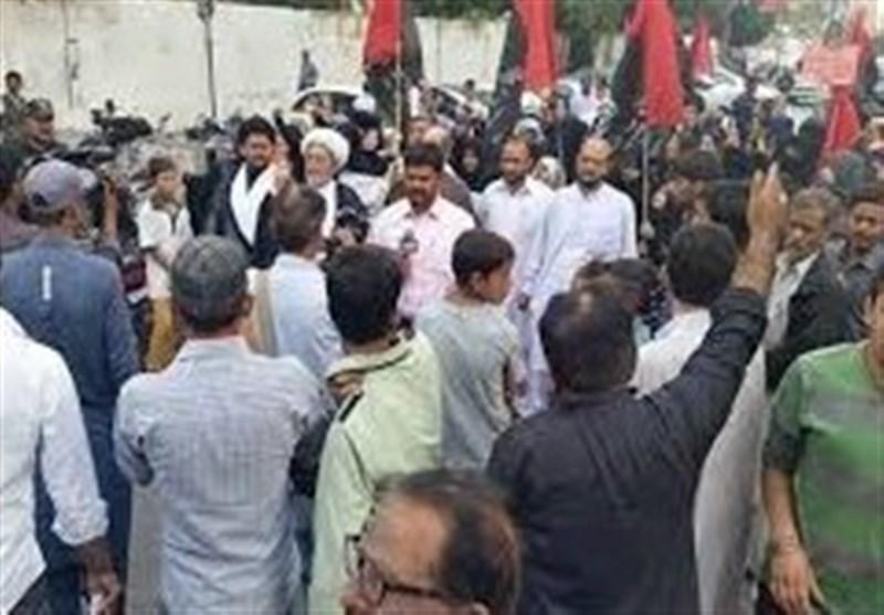 سندھ: زائرین سے اظہار ہمدردی کے لئے مختلف اضلاع میں مظاہرے