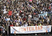 Thousands Protest in Berlin against Racism, Discrimination