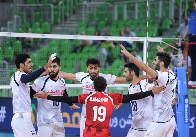 حریفان تیم ملی والیبال ایران برای رسیدن به المپیک 2020 مشخص شدند