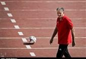 تمرین تیم ملی فوتبال| امتیازدهی کیروش به تمرین شاگردانش/ حضور ساکت در سکوت