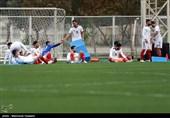تمرین بازیکنان ذخیره تیم ملی در آزادی