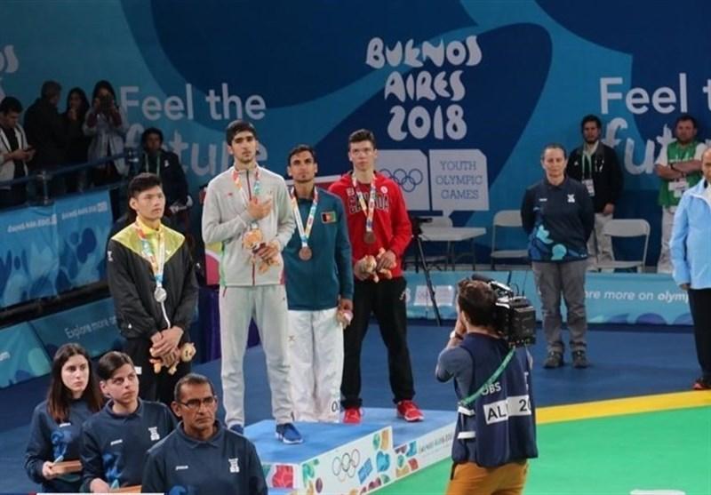 ایران تحطم الرقم القیاسی فی احراز المیدالیات الذهبیة فی اولمبیاد الشباب