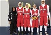 بسکتبال قهرمانی دختران آسیا  شکست ایران برابر هند