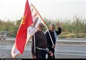 اربعین حسینی| پای سخنان خادمان موکبهای حسینی در مرز چذابه+فیلم