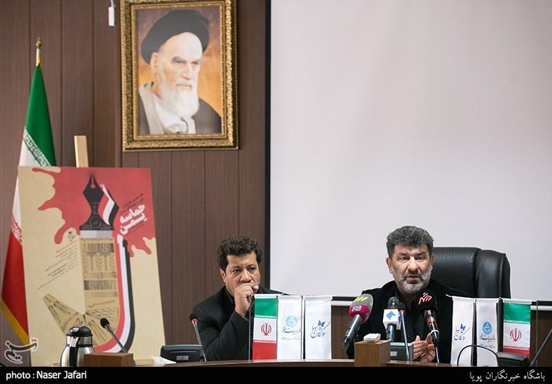 سعید حدادیان دبیر هفدهمین همایش سوختگان وصل و مرتضی امیری اسفندقه