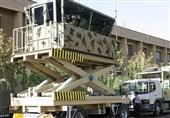 صنع فی ایران..برج مراقبة متنقل+ صور