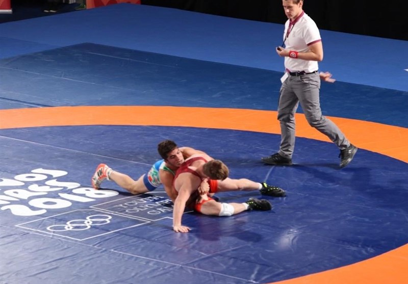 Iranian Wrestlers Earn Two Silver Medals at Youth Olympics