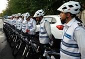 """""""پلیس دوچرخهسوار"""" در رشت آغاز به کار کرد"""