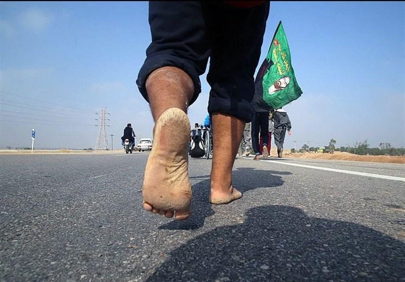 توصیه ای جالب برای تاول نزدن پا در پیاده روی اربعین + فیلم