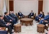 الرئیس الأسد یؤکد للجعفری أهمیة النهوض بالعلاقات التاریخیة السوریة - العراقیة