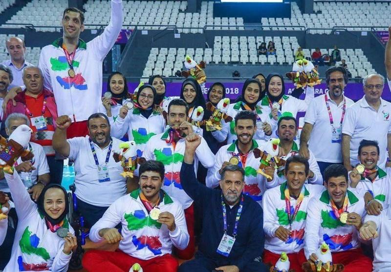 ورزشکاران بوشهری 13 مدال بازیهای پاراآسیایی را کسب کردند
